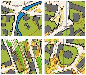 Ukázky mapy